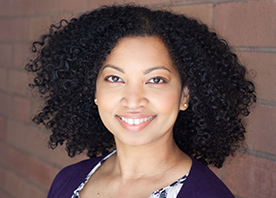 A photo of author Tracey Baptiste.