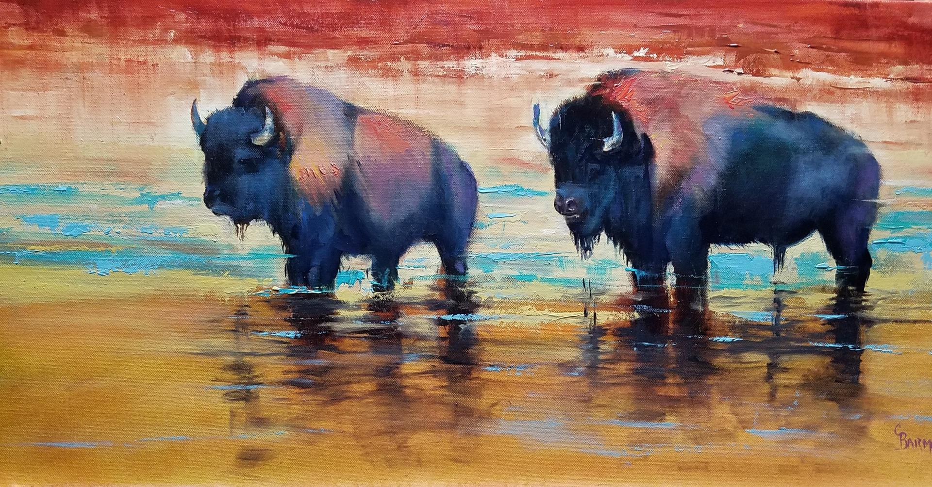 Bison by Carol Barmore