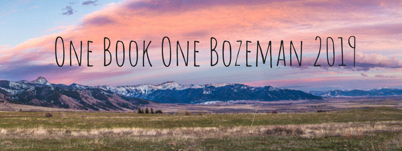 One Book One Bozeman 2019