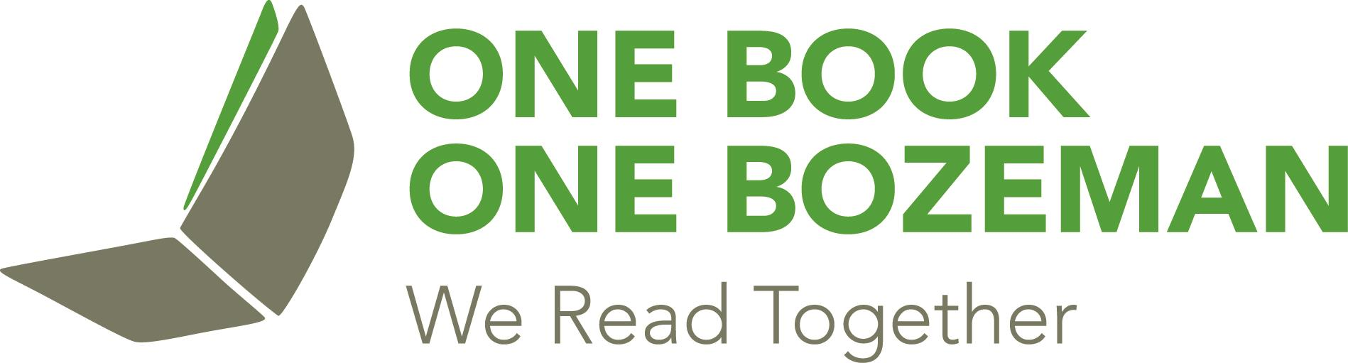 one book one bozeman logo