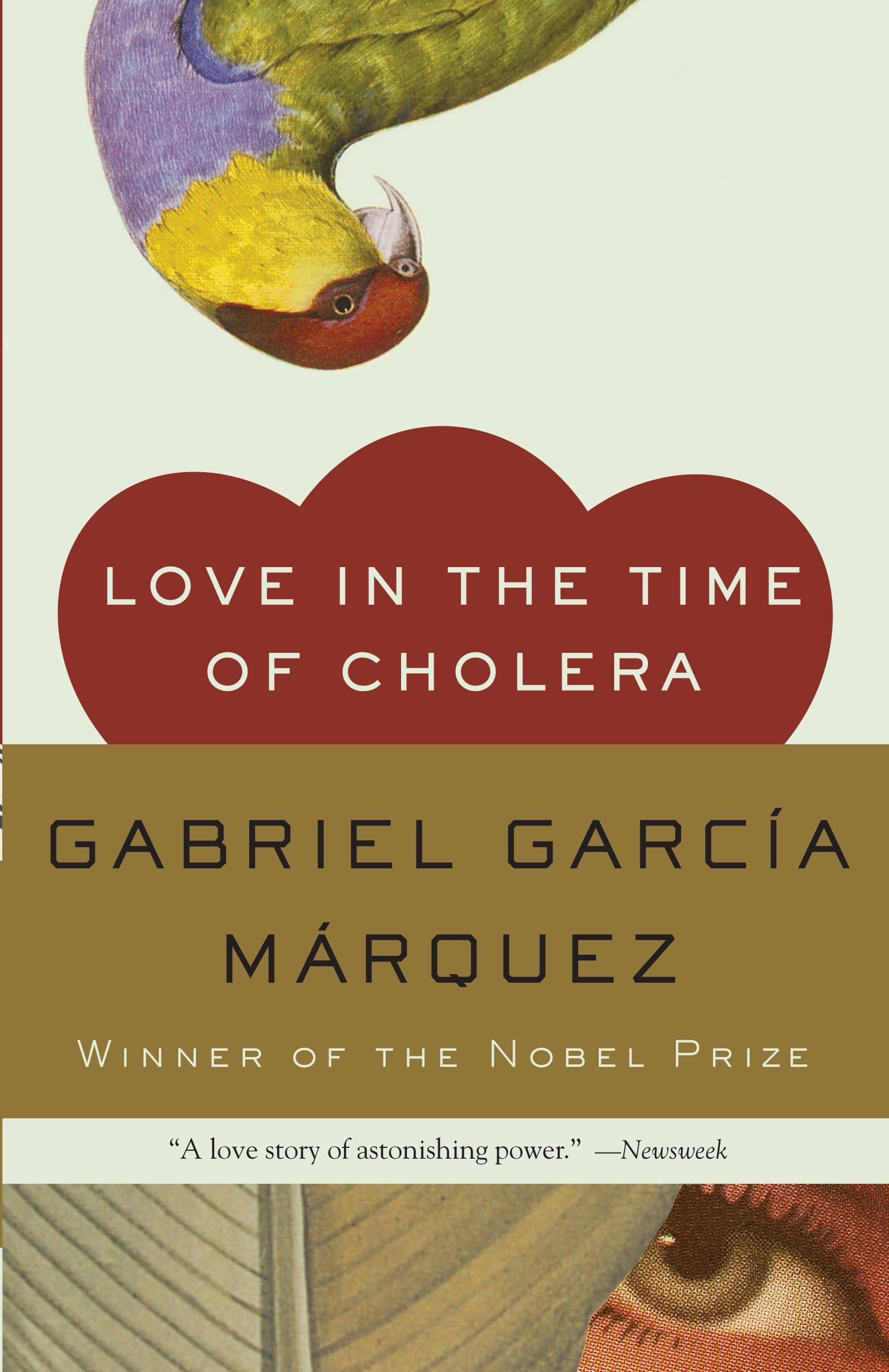 Love in the Time of Cholera book cover image