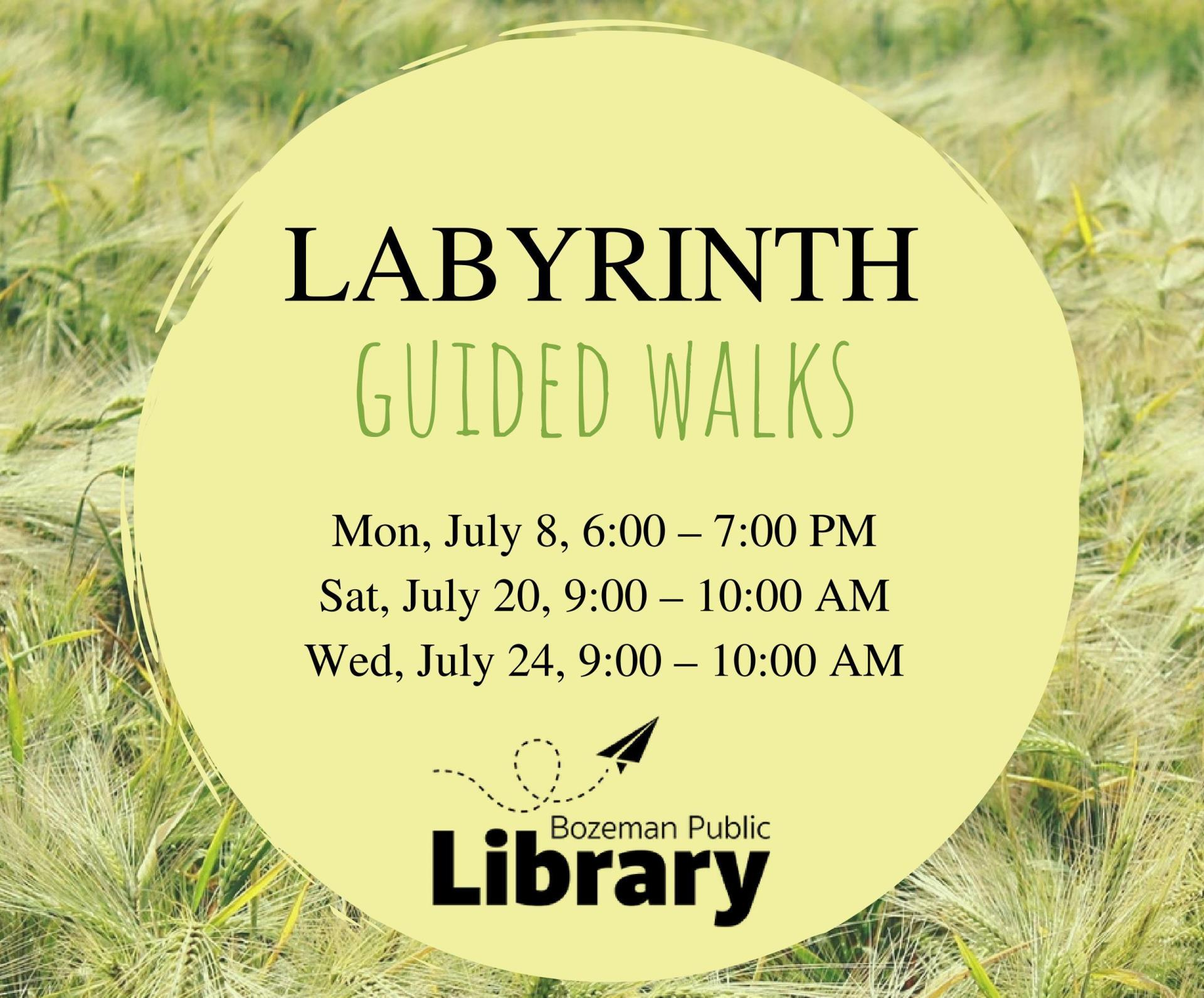 Labyrinth Guided Walks Image