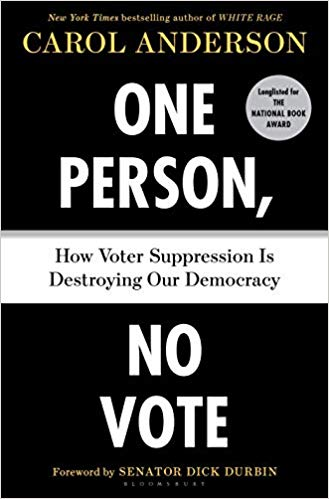 One Person No Vote book cover image