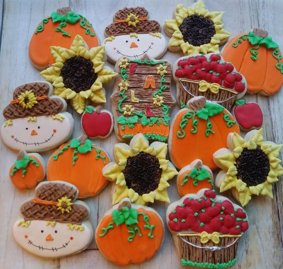 fall cookies image