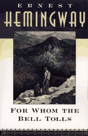 for whom the bell tolls book cover image